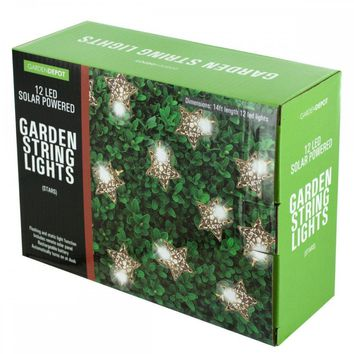 Silver Star Led Solar String Lights OF866