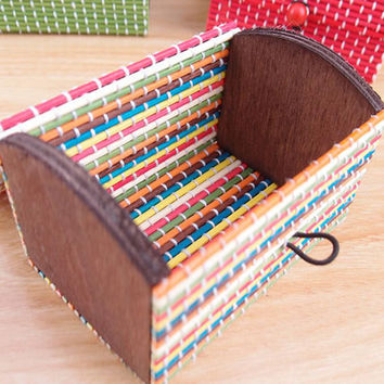 Amazing  Ring Necklace Earrings Bamboo Wooden Jewelry Storage Boxes