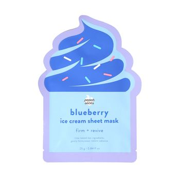 Blueberry Ice Cream Sheet Mask