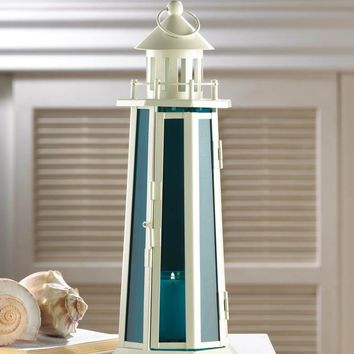 Nautical Lighthouse Candle Lamp