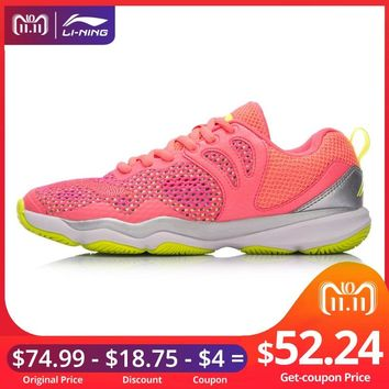 Li-Ning Women RANGER II LITE-Daily Professional Badminton Shoes Wearable Anti-Slipp LiNing Sport Shoes Sneakers AYTN034 XYY070