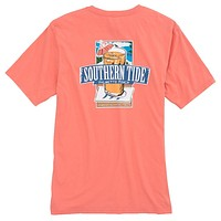 Southern Mix T-Shirt in Shell Pink by Southern Tide - FINAL SALE
