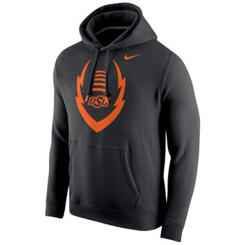Oklahoma State Cowboys Nike Icon Club Hoodie – Black