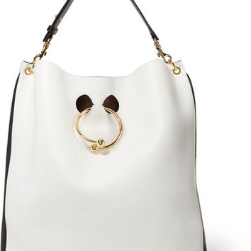 J.W.Anderson - Pierce two-tone leather tote