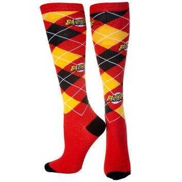 Big Bang Theory - Bazinga Argyle Socks