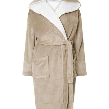 Novelty Grey Owl Dressing Gown - Nightwear & Loungewear - Clothing