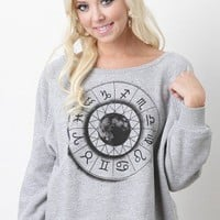 Open Zodiac Sweater