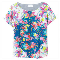 FLORAL PRINT T - SHIRT - T - shirts - Woman - New collection | ZARA United States