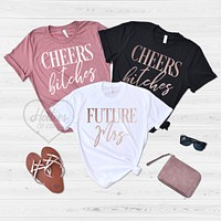 Future Mrs Bachelorette Party Shirts