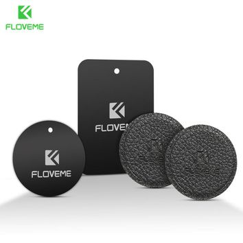 FLOVEME Universal Metal Plate for Car Phone Holder Iron Sheets for Magnetic Mount Phone Holder Stand GPS Magnet Disk
