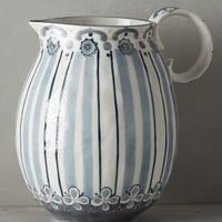 Fandoline Pitcher by Anthropologie in Neutral Size: Pitcher Serveware