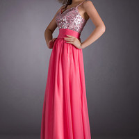 Real Beach Sweetheart Floor-length Chiffon Sequin Fashion Long Prom/Evening/Party/Homecoming/Bridesmaid/Formal Dress 2014 New Arrival