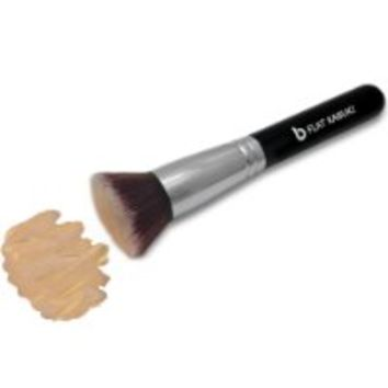 Beauty Junkees Flat Kabuki Foundation Makeup Brush