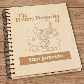 Personalized Fishing Photo Album