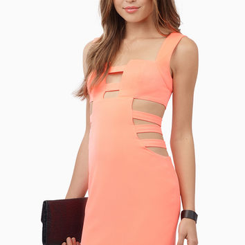 Cut In The Side Bodycon Dress
