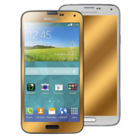 Galaxy S5 Champagne Gold GlassShield Luxury Screen Protection