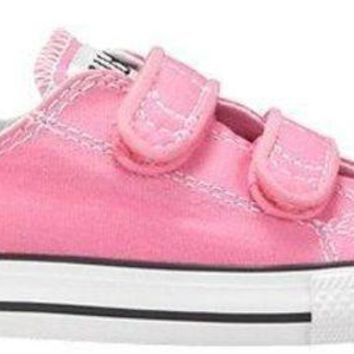 DCCK1IN converse girl s chuck taylor all star 2v infant toddler pink 7 m us toddler