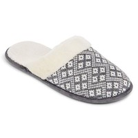 Isotoner® Sweater Knit Clog Slippers