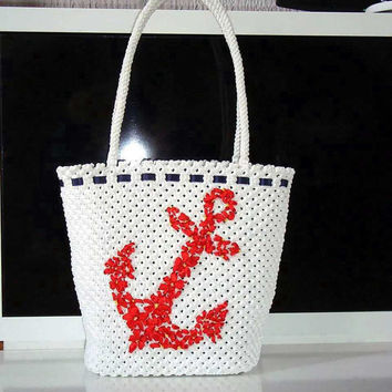Handbag,Macrame,Handmade fashion bag