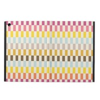 Geometric abstract modern aztec andes pattern cover for iPad air