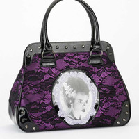 Rock Rebel Bride of Frankenstein Handbag