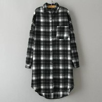 Mystery Oversized Flannel Shirts for Women