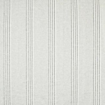 Ralph Lauren Fabric LCF67858F Further Stripe Sheer Grey Shingle