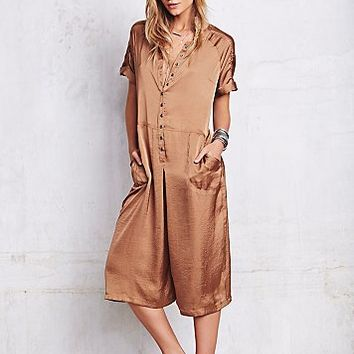 Free People Womens Moon River Jumpsuit