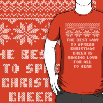 Buddy Elf Spread Christmas Cheer Holiday Ugly Sweater