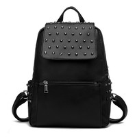 Studded Flap & Sides Backpack