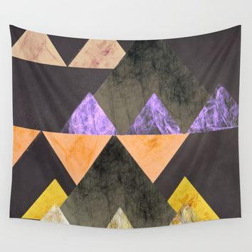 Marble Mountains Wall Tapestry by sm0w