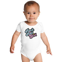 Rock N' Roll Girl Baby Onesuits