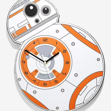 Star Wars BB-8 Wall Clock