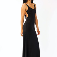 open-back-maxi-dress BLACK DKGREY JADE MINT RED ROYAL SALMON - GoJane.com