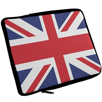 British Flag Union Jack iPad Tablet Sleeve