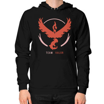 Team Valor Hoodie (on man) Shirt