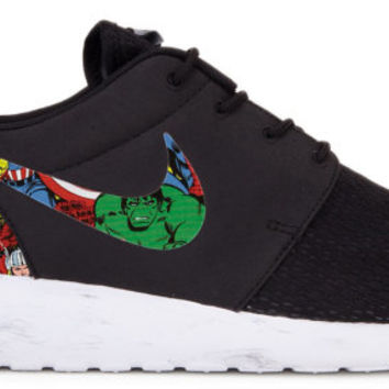 Marvel Avengers Custom Roshe Runs (Hulk, Captain America, Spiderman, Iron Man, Thor)