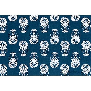 Premier Prints Outdoor Lobster Oxford fabric