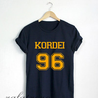 Normani Kordei Shirt Kordei 96 Tshirt Navy Color Unisex Size - RT73