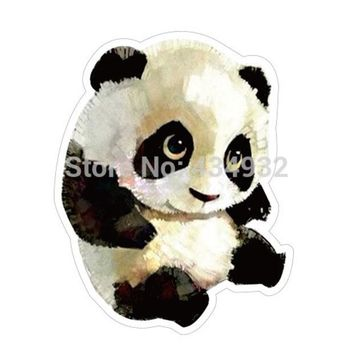ac NOOW2 Min.order is $10(mix order) Cute panda bowls waterproof suitcase stickers luggage stickers tide brand stickers[single]
