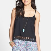 BP. Crochet Trim Tank (Juniors)