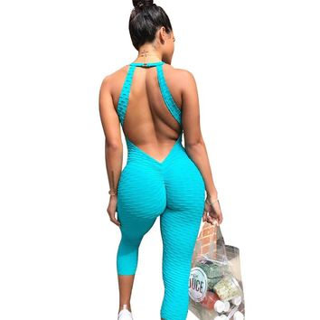 Casual Backless Sexy Jumpsuits