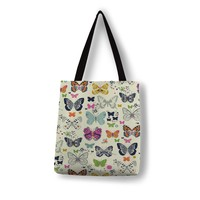 Bright butterfly collection