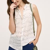 Cloth & Stone Whispered Stripe Tank