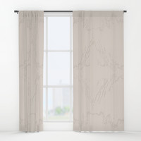 Pearl Bush Window Curtains by deluxephotos