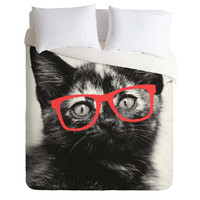 Allyson Johnson Sassy Kitten Duvet Cover