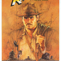 Indiana Jones Raiders of the Lost Ark Poster 24x36