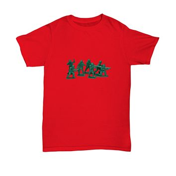 Plastic Army Men Toys Fighters Classic 80's T-Shirt