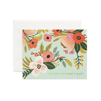 Pastel Mother's Day Greeting Card