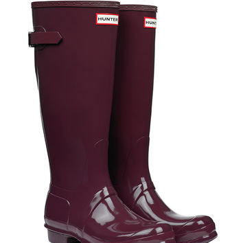 Original Adjustable Gloss Wellington Boots | Hunter Boot Ltd